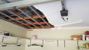 Ceiling and cornice damage