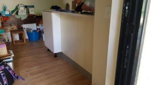 Under counter cupboards