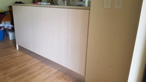 Under counter cupboard