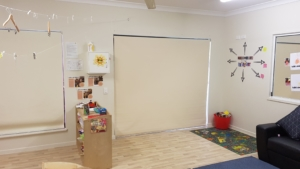 Daycare Blinds installation